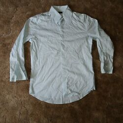 7 Diamonds Mens Small White Collared Long Sleeve Button Up Dress Shirt