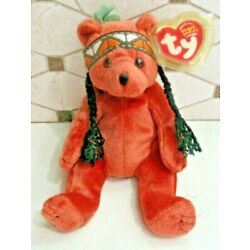 Ty Beanie Baby Little Feather the Bear DOB September 22, 2003 MWMT Free Shipping