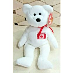 Ty Beanie Baby Maple the Bear DOB July 1, 1996 MWMT Free Shipping