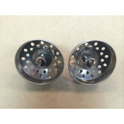 Kitchen Sink Strainer Stoppers Pair 3'' New Mobile Home Parts