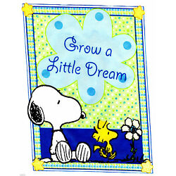baby sweet dreams snoopy sticker wall safe little border cut out 6 to 10.5 inch