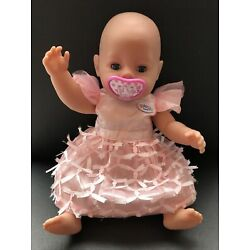 16  Realistic Baby Born Girl Doll Potty Experience By Zapf Creations 2013