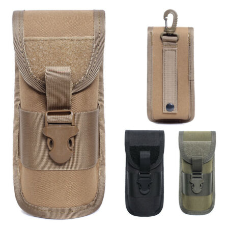 img-Hard Shell Glasses Case Molle Tactical Knife Glasses Pouch Hunting Accessory Bag
