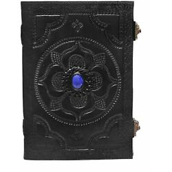 Handmade Leather Bound Notebook Writing Journal Diary Deckle Book OF Shadow