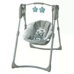 Graco Slim Spaces Compact Baby Swing New/Open Box Item Return Great Product