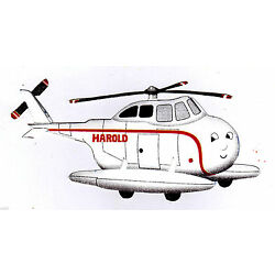 Thomas harold plane train sticker wall safe border cut out 6.5 to 10 inch
