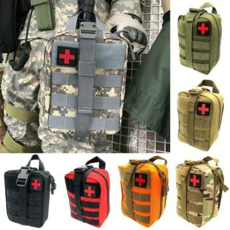 img-Tactical First Aid Kit Survival Molle Rip-Away EMT IFAK Medical Bags Backpack