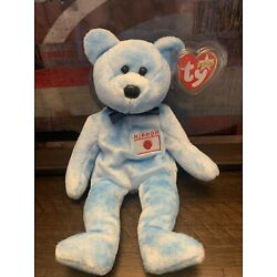 Ty Beanie Baby Nipponia The bear Japan Exclusive 2000 With Tag Protector
