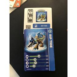 Skylanders Swap Force Trading card and sticker Activision Rip Tide water element