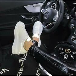 Alexander McQueen Super Classic White Tail Casual White Athletic Shoes