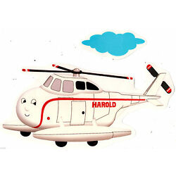 Thomas train plane wall safe sticker set harold border cut out 6.5 to 10 inch