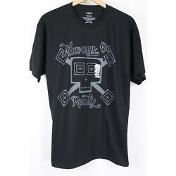 NEW 5.11 Tactical Always Be Ready Mens Graphic  Black T-Shirt Size Large