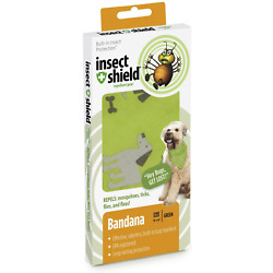 Insect Repellant Dog Bandana for Protecting Dogs from Fleas, Ticks, Mosquitoes