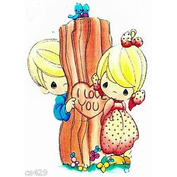 tree Precious moments wall safe sticker love cut out 7 inch