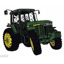 farm tractor John deer wall decal prepasted border cut out 3.5 inch