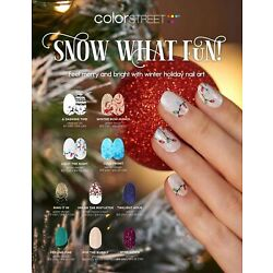 COLOR STREET SNOW WHAT FUN HOLIDAY 2021 PREORDER