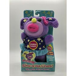 Sing-a-ma-Lings! DARCY Singing Plush Toy I Sing ''Twinkle Twinkle Little Star''