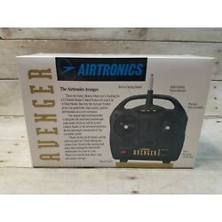 Vintage Airtronics Avenger Transmitter Radio RC 2 Channel System NEW