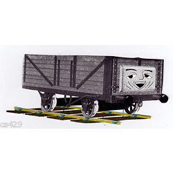 train Thomas wall decal gray prepasted border cut out 3 inch