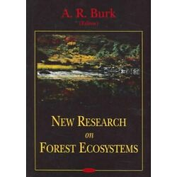 New Research On Forest Ecosystems, Hardcover by Burk, A. R. (EDT), Brand New,...