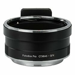 Fotodiox Pro Lens Mount Adapter Contax 645 C645 Mount Lens to G-Mount GFX Mir...