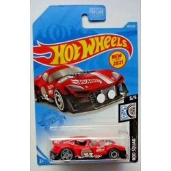 2021 Hot Wheels ROD SQUAD 5/5 Muscle And Blown 184/250 (Red)