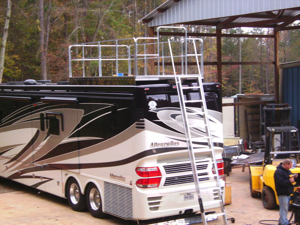 Observation deck for trailer rv motorhome bus toyhauler ebay for Motor home toy hauler
