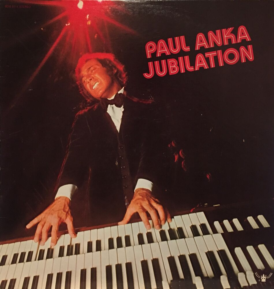 Paul Anka Quot Jubilation Quot Lp 1972 Pop Ebay
