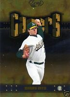 2004  Leaf Gamers Barry Zito Second Edition