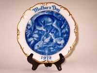 Vintage Dresden Germany 1st Mothers Day Doe/Fawn Plate
