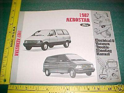 1987 ford aerostar wiring troubleshooting manual evtm