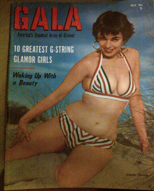 GALA July 1956 FN Tempest Storm,Plus Bettie Page Ads | eBay