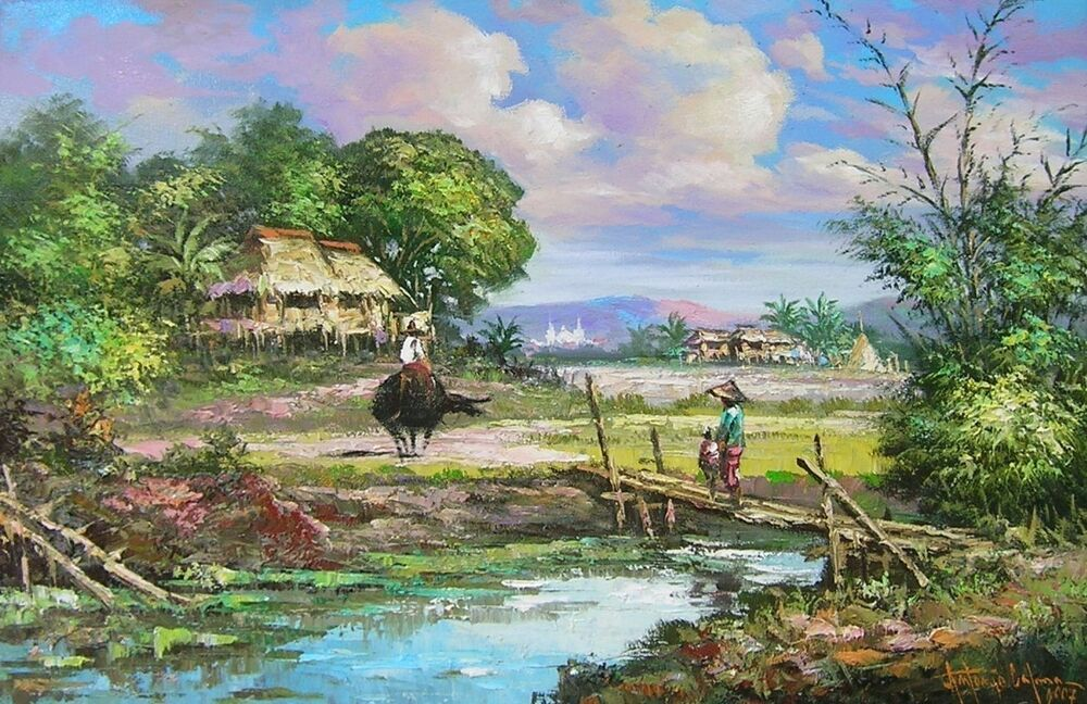Famous Paintings Of Water Scenes