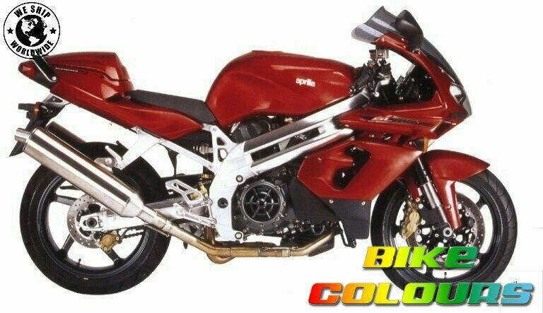 aprilia touch up paint 2000 01 sl1000 falco red fire ebay. Black Bedroom Furniture Sets. Home Design Ideas