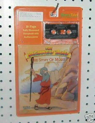 beginners bible the story of moses book amp tape new ebay
