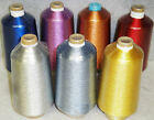 40 Metallic Embroidery Threads Different Colorsyardages