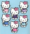 Hello Kitty With Flower Die Cut - Multi Sizes And Color-you Choose- 1 Die Cut