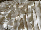 Hemp Organic Cotton Fleece Fabric Scraps Remnants Eco Friendly Many Uses Soft