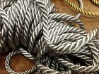 Vintage French 14 Metallic Twisted Cording Gold Or Silver Rope Cord Trim 1yd