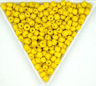 Glass Round Seed Beads Opaque Metallic Pearl Colors 60 80 120 Sizes