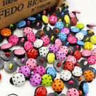 New 50100500pc Mix Ladybug Diy Kids Appliquescraftsewing Buttons Pt39