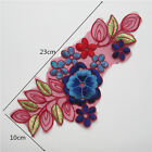 Lace Embroidered Polyester Flower Neckline Collar Trim Clothes Sewing Applique