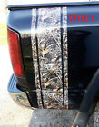 Real Tree M4 Camo W Logos Truck Bed Stripes Decals Fit Ram Chevy Gmc Duramax