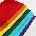 Zaione Plain Solid 100 Cotton Fabric Quilting Sewing Crafts Patchwork Lot Yard
