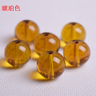 Free Ship Transparent Crystal Round Smooth Bead Glass Smooth Bead 6--16mm
