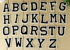 Embroidered Iron On Patch Alphabet Letters Your Choice Around 2 Ap025fb