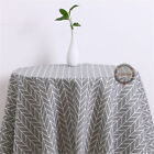 Fashion Geometric Printed Cotton Linen Fabrics Cloth Upholstery Crafts Material