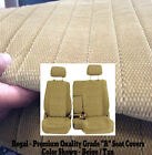 Us Rcab Xcab Front 6040 Split Front Bench Seat Cover Fit For 1995 - 2000 Tacoma