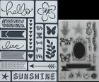 Art C Stampstencil Lot To Choose From