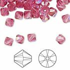 Swarovski Bicone Austrian Crystal Beads Faceted Crystal Shimmer 3mm 4mm 5mm 6mm